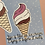 Thumbnail: Ice Cream Postcard & Vinyl Sticker