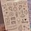 Thumbnail: Pink Classic Doodles Large Sheet
