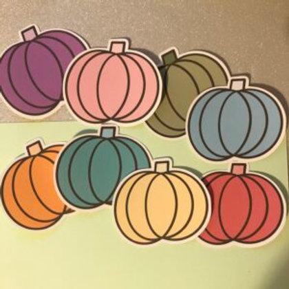 Pastel Pumpkin Large Sticker Pack