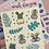 Thumbnail: Green Plants Small Sticker Sheet