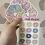 Thumbnail: Scrunchies Small Sticker Sheet