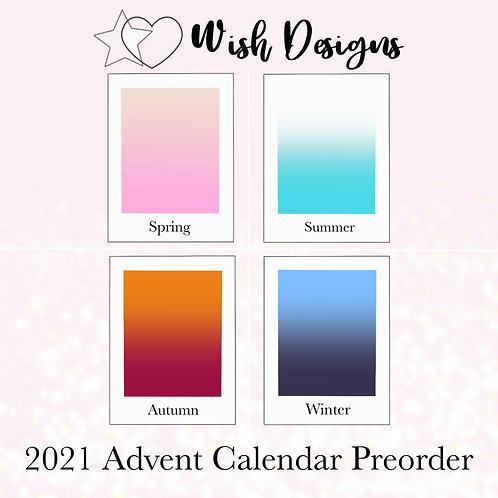 Wish Designs 2021 Advent Calendar Preorder - Payment Plan