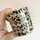 Thumbnail: 15mm Black Foil Leopard Print Washi Tape