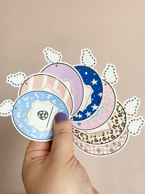 Tamagotchi Pets Large Sticker Pack