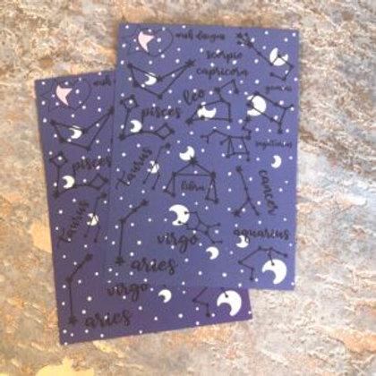 Zodiac Large Sticker Sheet