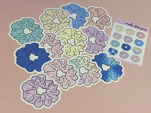 Scrunchies Large Sticker Pack