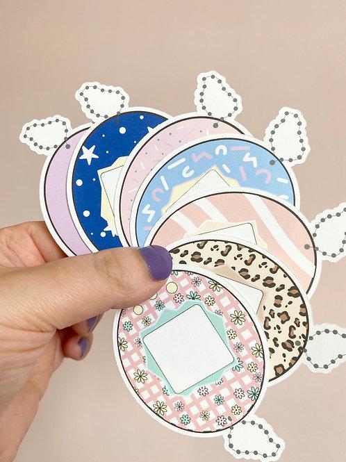 Tamagotchi Large Sticker Pack