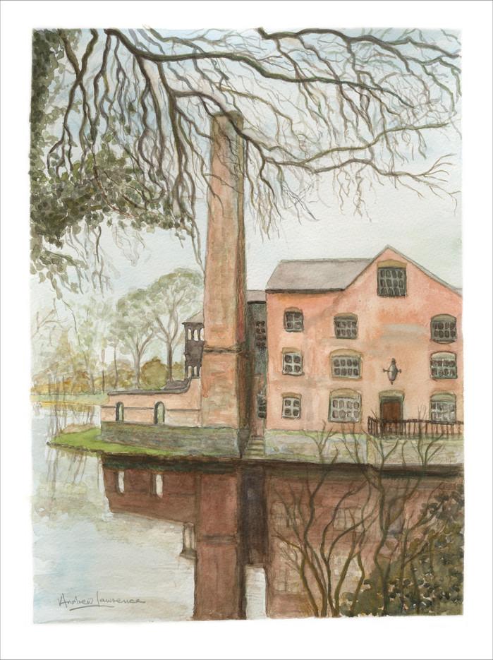 Water Mill near Leamington Spa