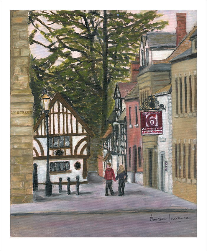Warwick Castle Street