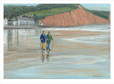 Sidmouth Beach Walkers