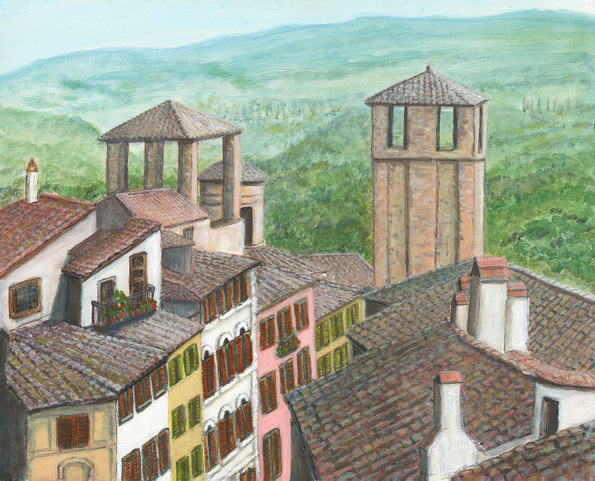 Roof Tops in Perugia