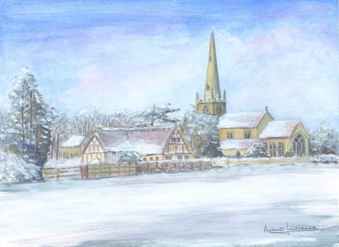 Ladbroke church, Warwickshire