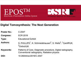 "European Congress of Radiology:  Adaptix Presents... ""Digital Tomosynthesis - The Next Generati"