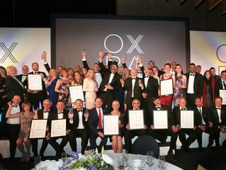 Oxfordshire Business Awards 2018 - Winner of Innovation Award