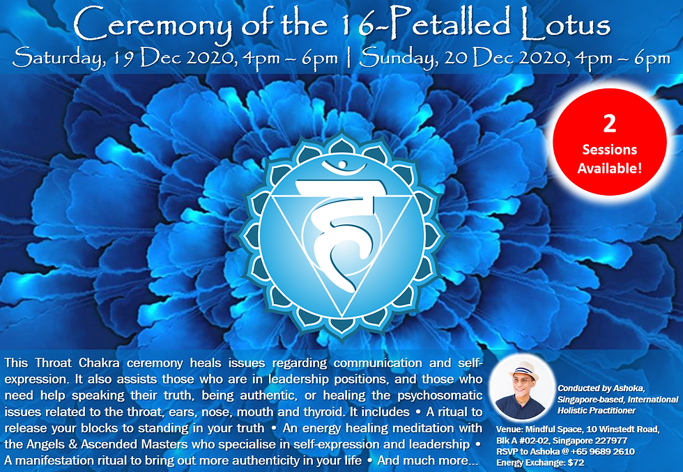 Ceremony of the 16-Petalled Lotus (2 ses