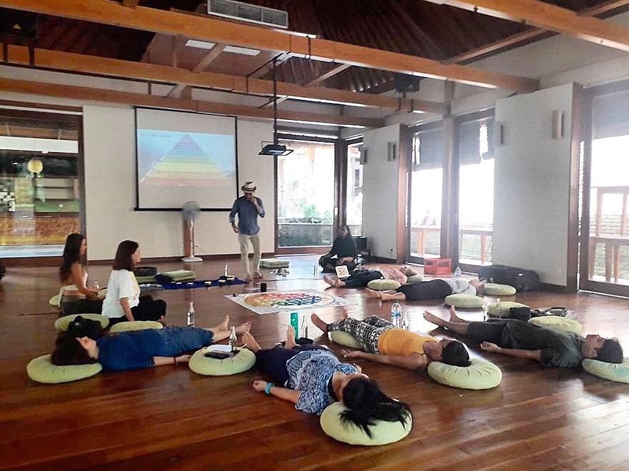 Chakra healing workshop