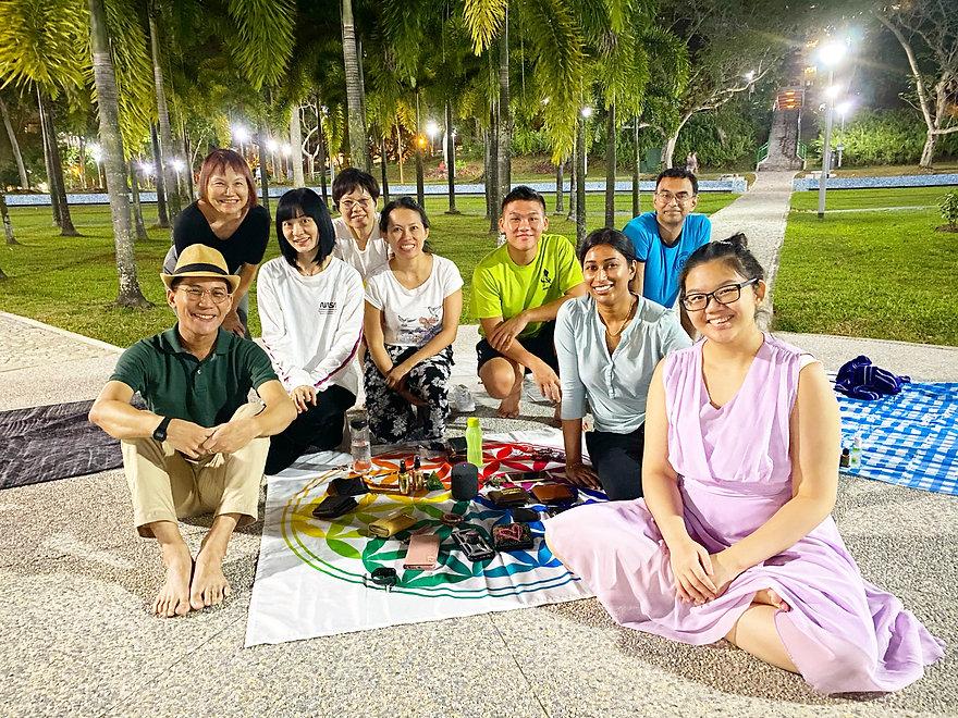 Spring Equinox healing meditation Singapore