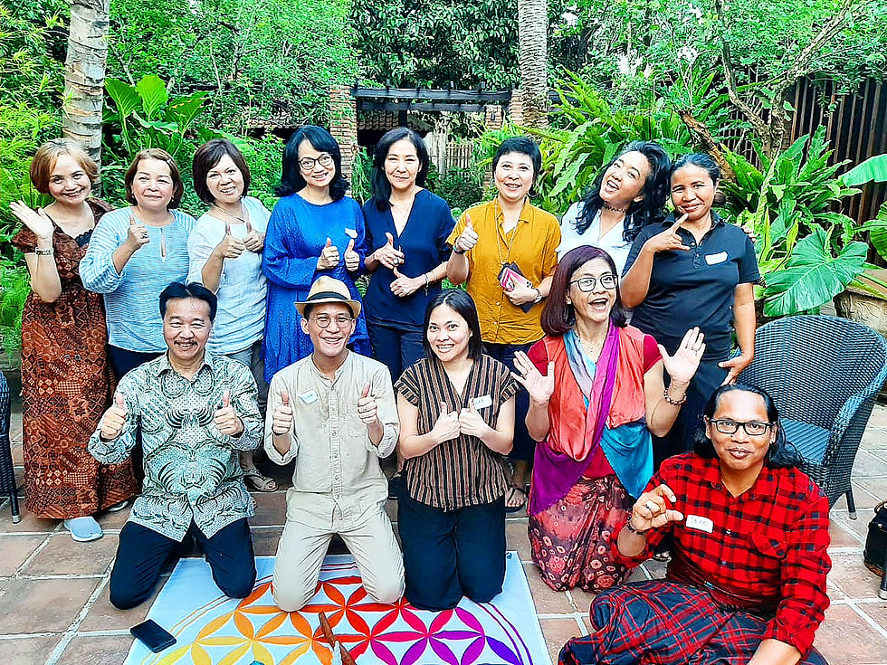 Spiritual healing in Jakarta