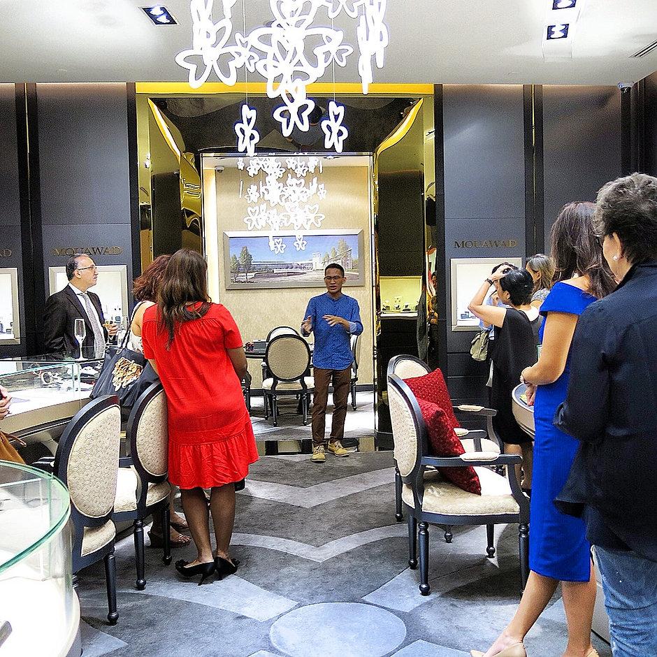Chakras and gemstones Mouawad Singapore