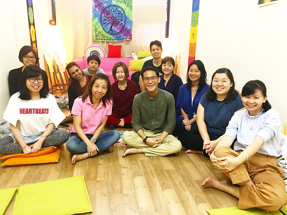 Spiritual wellness workshop