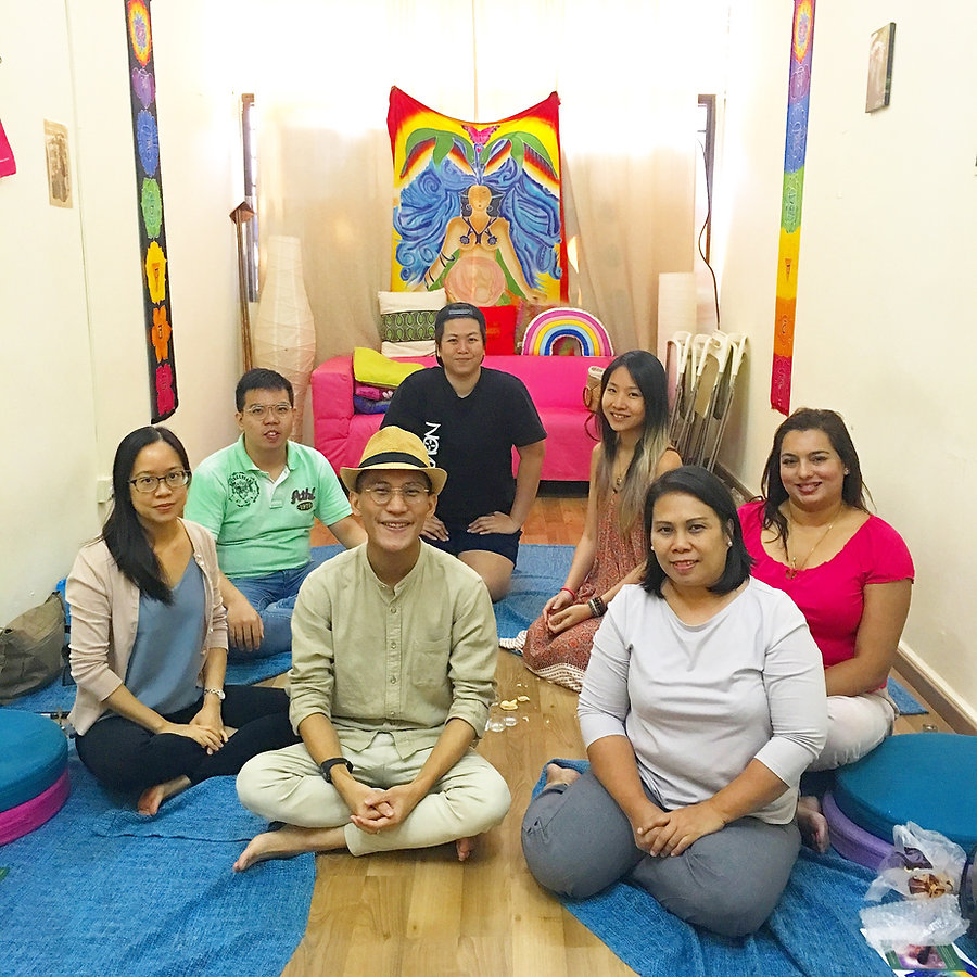 Holistic healing workshop
