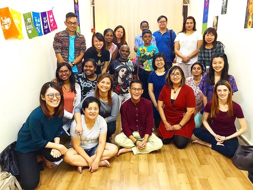 Healing workshop Audrey's Wellness Singapore