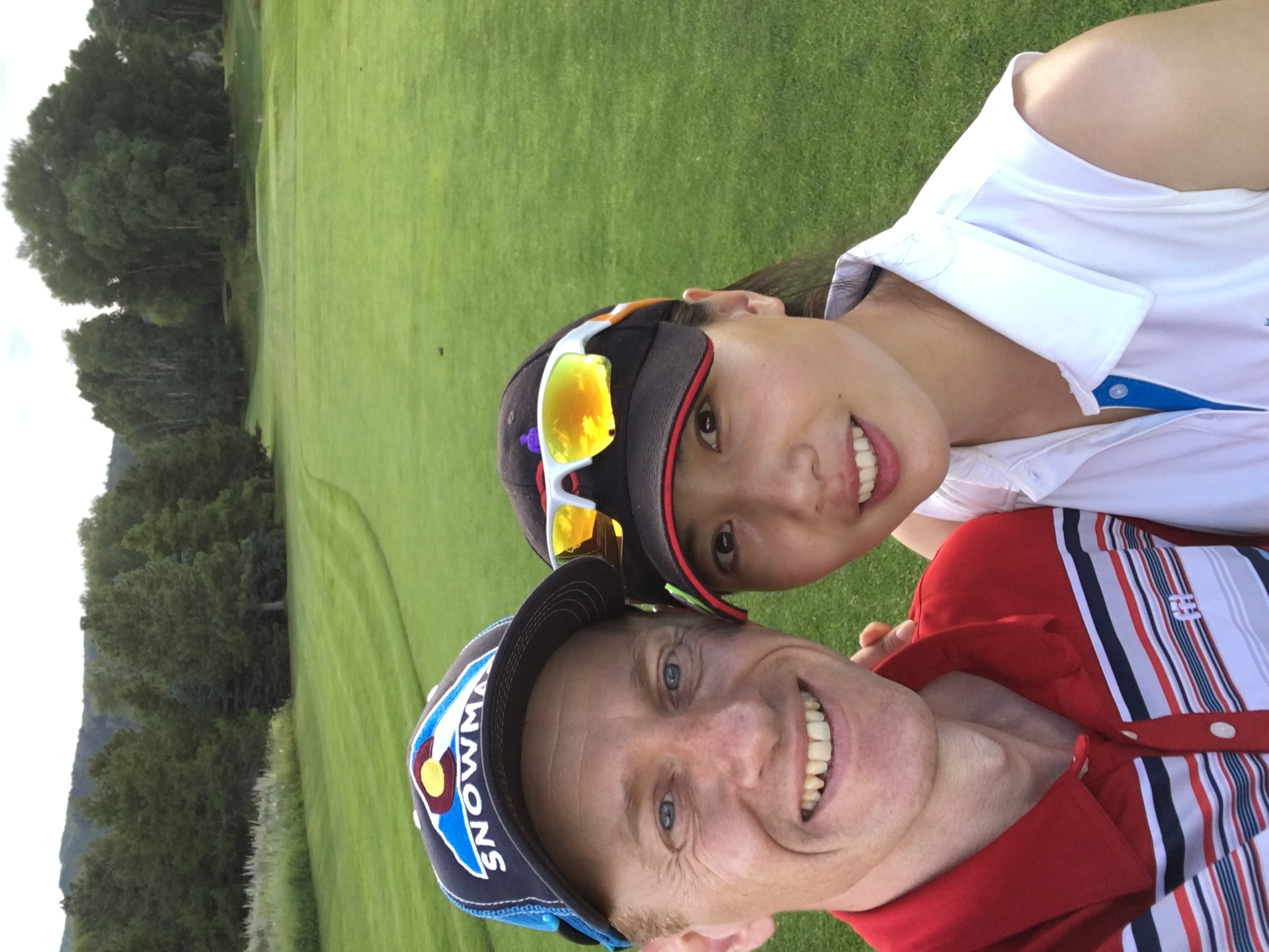 Simon & Yu Rong (CLPGA Tour)