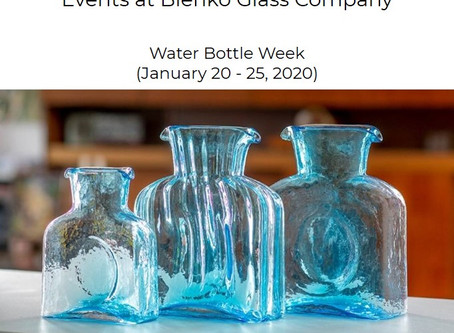 BLENKO Water Bottle Week