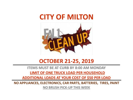Fall Clean Up!