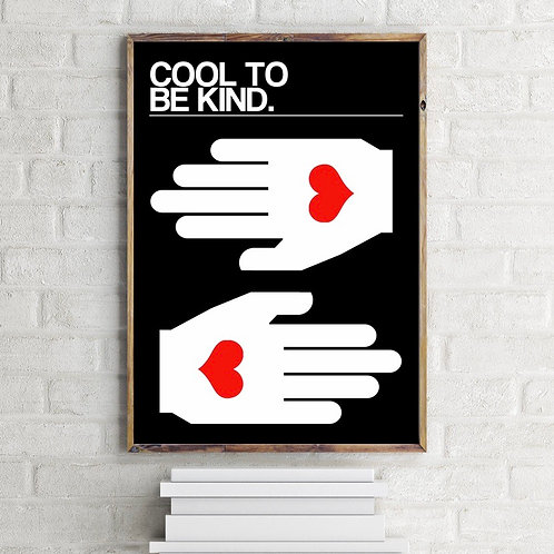 Frances Collett COOL TO BE KIND Art Print
