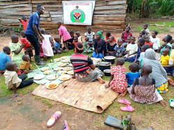 The whole orphanage comes together to celebrate Easter and celebrate Christ and His love.