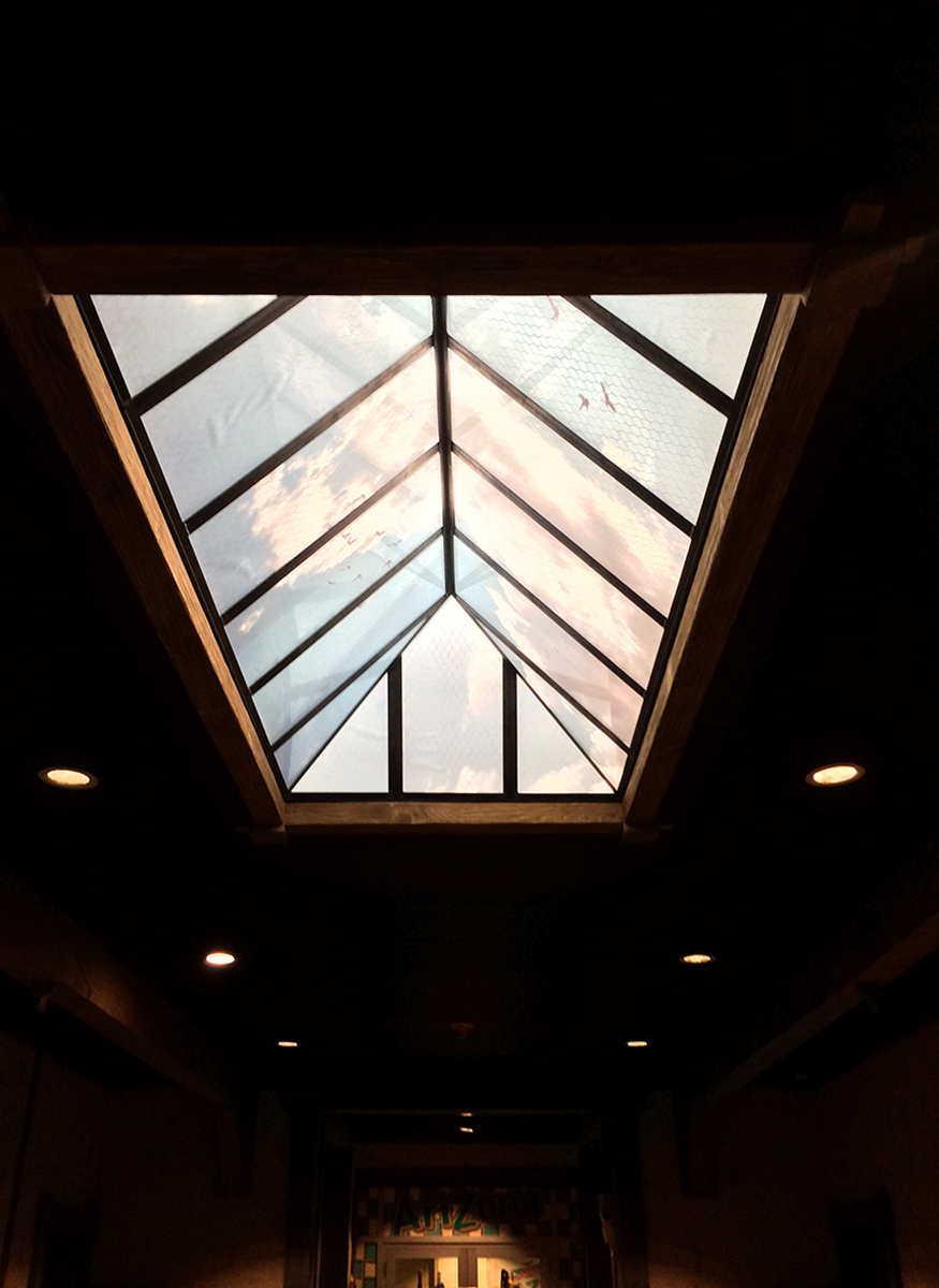 Faux Skylight
