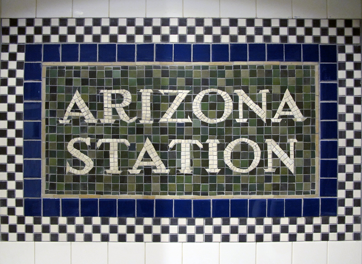 Subway Detail Mosaic