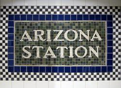 Subway Detail Mosaic