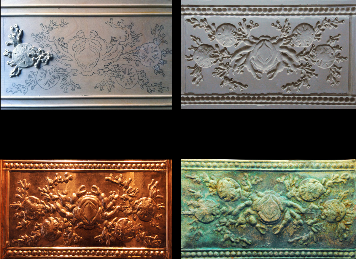Copper Reliefs