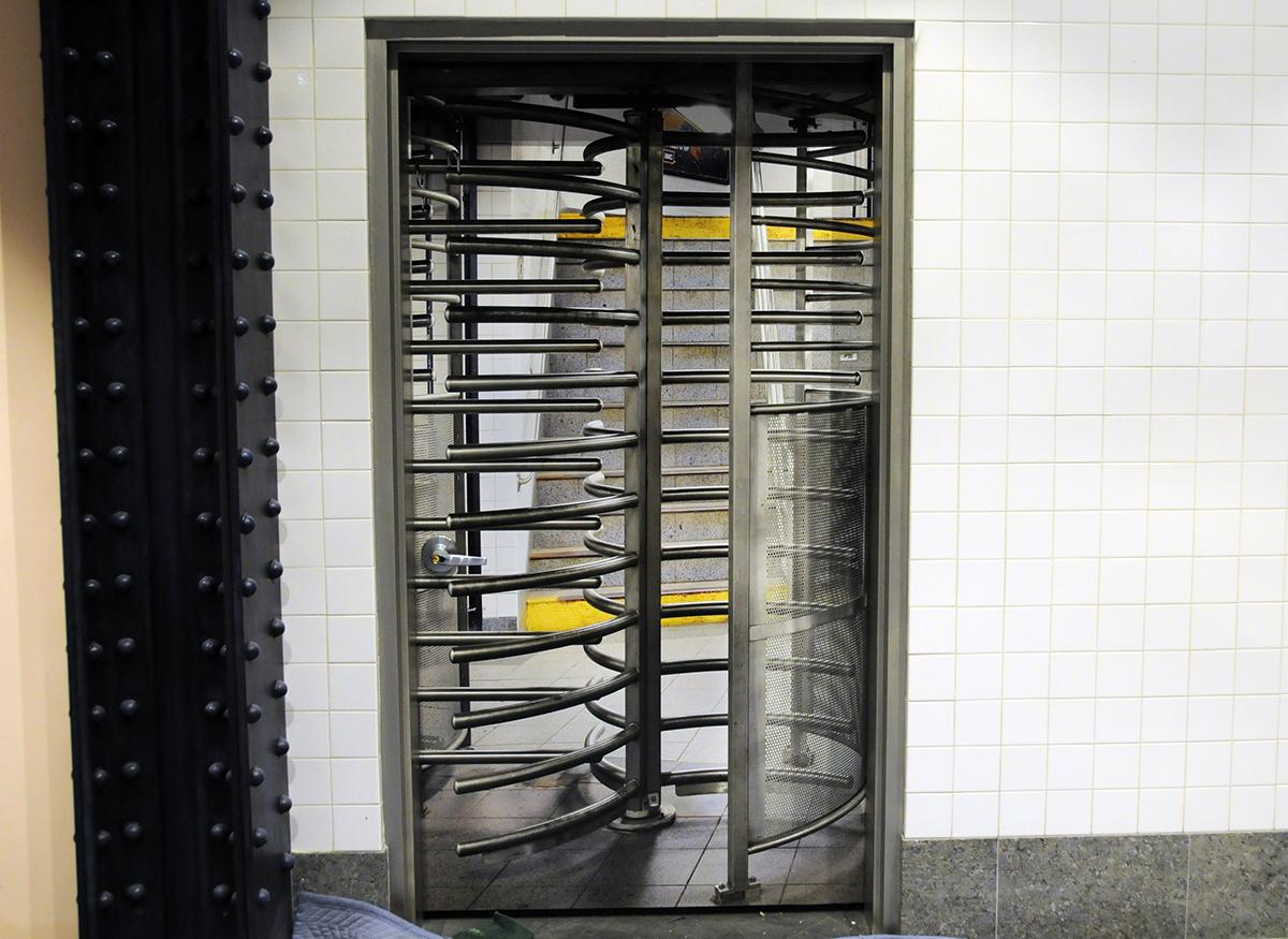 Subway Detail Storage Room
