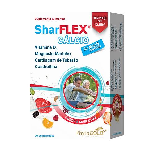 SHARFLEX CÁLCIO – 30 COMPRIMIDOS – PHYTOGOLD