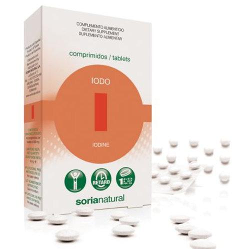 IODO RETARD - 48 COMPRIMIDOS - SORIA NATURAL