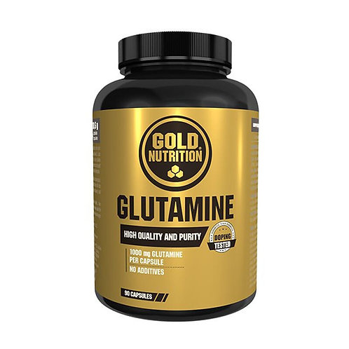 GLUTAMINA 1000 MG – 90 CÁPSULAS – GOLDNUTRITION
