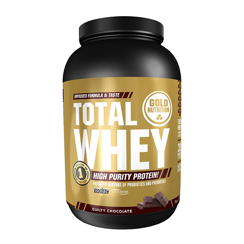 TOTAL WHEY CHOCOLATE - 1 KG GOLDNUTRITION