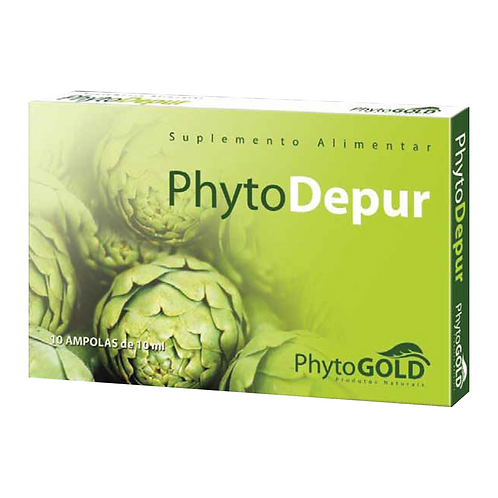 PHYTODEPUR – 10 AMPOLAS – PHYTOGOLD