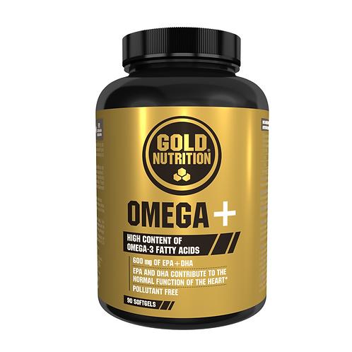 OMEGA + PLUS - 90 CÁPSULAS - GOLDNUTRITION