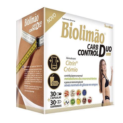 BIOLIMÃO CARB CONTROL DUO - 30 CAPS + 30 COMPS - FHARMONAT