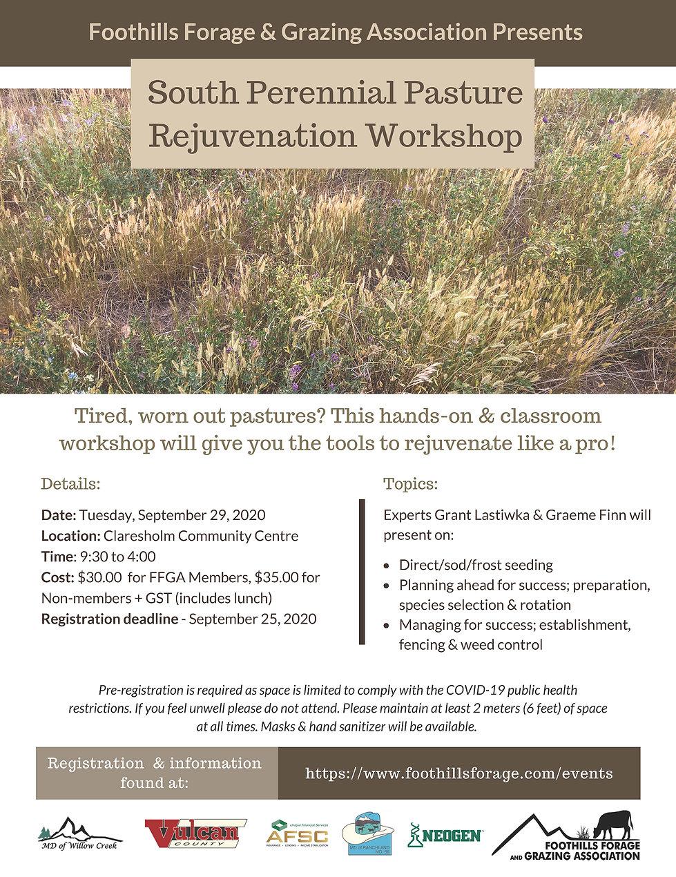 Perennial Pasture Rejuvenation South Pos