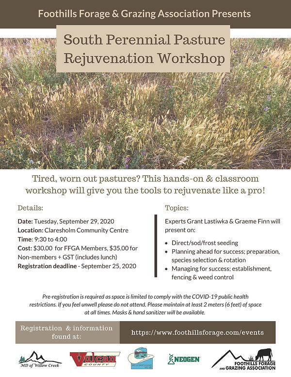 Perennial Pasture Rejuvenation South Pos