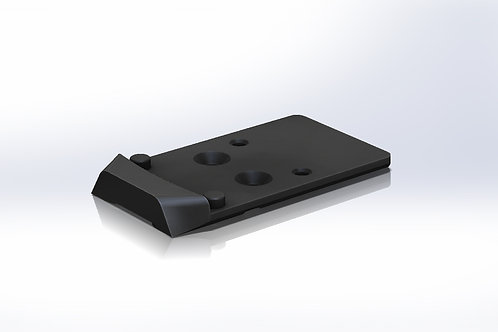 CZ P10 Series RMR and Holosun Optic Mounting Plate PREORDER