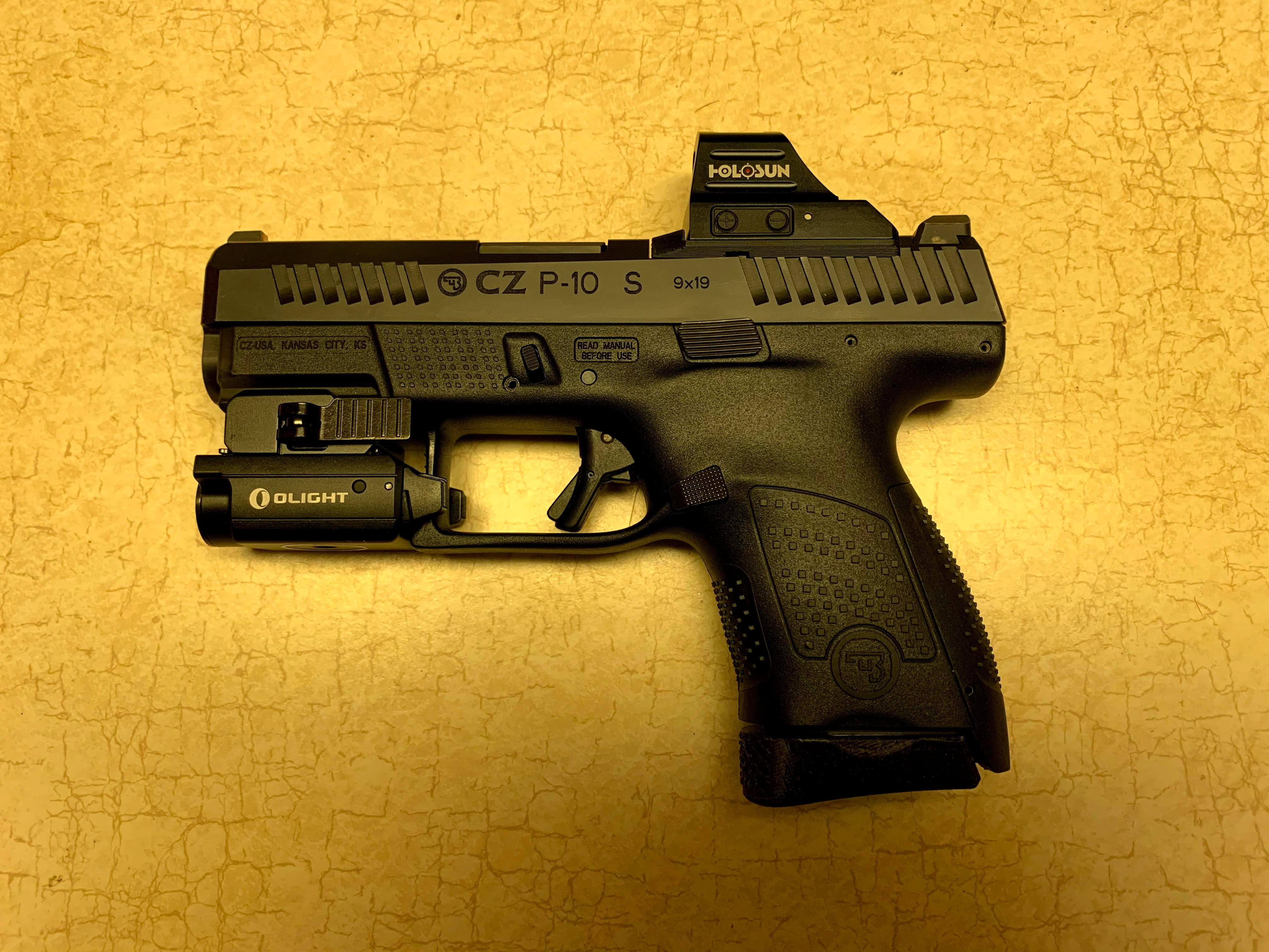 Thumbnail: CZ P10 Series RMR and Holosun Optic Mounting Plate PREORDER