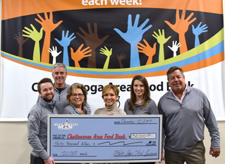 Five Star Launches Non-Profit Organization, Donates $30K to Food Bank