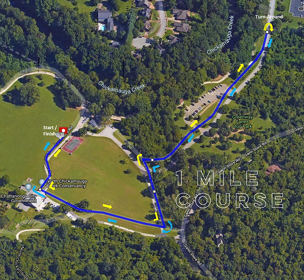 2019 Course Map_1mile_Out n Back(labeled