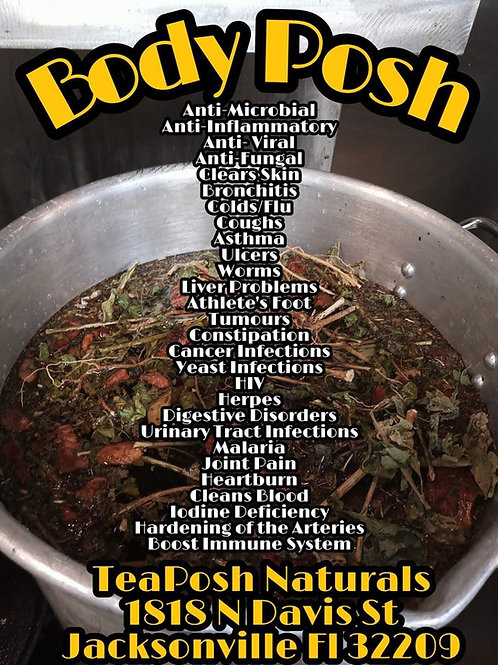 Body Posh  Herbal Blend 4oz